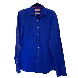 EUC Thomas Pink 100% Linen Shirt size XS